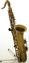 Musical Instruments:Horns & Wind Instruments, Vintage Pan American Brass Tenor Saxophone, #57670....