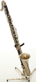 Musical Instruments:Horns & Wind Instruments, Vito Bass Clarinet, #1515D....