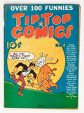 Golden Age (1938-1955):Miscellaneous, Tip Top Comics #4 (United Features Syndicate/Standard, 1936) Condition: VG....
