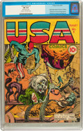 Golden Age (1938-1955):Superhero, USA Comics #1 (Timely, 1941) CGC FN 6.0 Cream to off-white pages....