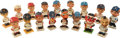 Baseball Collectibles:Others, 1960's Baseball Nodders Lot of 17....