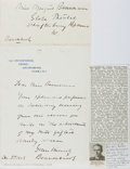 Autographs:Celebrities, Lord William Beaverbrook Autograph Letter Signed...