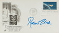 Autographs:Celebrities, Robert Bloch First Day Cover Signed....