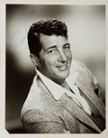 Autographs:Celebrities, Dean Martin Photograph Signed....