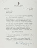 Autographs:Authors, Dale Carnegie Typed Letter Signed....