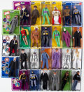 Memorabilia:Superhero, Batman Mego-Style Action Figure Group (date unknown).... (Total: 27 Items)