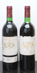 Red Bordeaux, Chateau Margaux 1982 . Margaux. 1bn, 2hbsl, 1ts, 2oxc.Bottle (2). ... (Total: 2 Btls. )