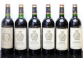 Red Bordeaux, Chateau Gruaud Larose. St. Julien. 1982 scl Bottle (1). 1986ts, bsl Bottle (1). 1990 3lscl, 1scl Bottle (4)... (Total: 6 Btls.)