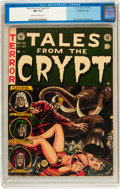 Golden Age (1938-1955):Science Fiction, Tales From the Crypt #32 Gaines File Copy (EC, 1952) CGC NM- 9.2Cream to off-white pages....