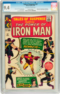 Silver Age (1956-1969):Superhero, Tales of Suspense #57 (Marvel, 1964) CGC NM 9.4 Off-white to white pages....
