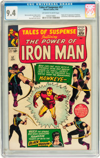 Tales of Suspense #57 (Marvel, 1964) CGC NM 9.4 Off-white to white pages