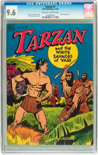 Tarzan #1 (Dell, 1948) CGC NM+ 9.6 Off-white to white pages