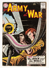 Our Army at War #83 (DC, 1959) Condition: GD+