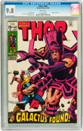 Silver Age (1956-1969):Superhero, Thor #168 (Marvel, 1969) CGC NM/MT 9.8 White pages....