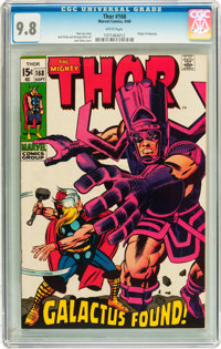 Thor #168 (Marvel, 1969) CGC NM/MT 9.8 White pages