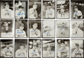 Autographs:Photos, 1940's-50's Baseball Hall of Famers Signed Photographs by Burke Lotof 18....