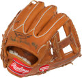 Autographs:Others, 1980's Duke Snider Specially Manufactured Signed Glove....