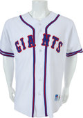 Baseball Collectibles:Uniforms, Early 2000's Roger Craig Game Worn San Francisco Giants Throwback Jersey....