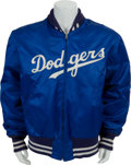 Baseball Collectibles:Uniforms, Early 1970's Walter Alston Game Worn Los Angeles Dodgers Jacket....