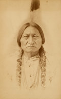 American Indian Art:Photographs, D.F. BARRY PORTRAIT OF SITTING BULL. c. 1885. ...