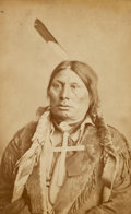 American Indian Art:Photographs, D.F. BARRY PORTRAIT OF CHIEF GALL. c. 1885...
