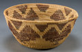 American Indian Art:Baskets, A CALIFORNIA COILED BOWL...