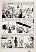 "Original Comic Art:Panel Pages, Jack Kirby and Dick Ayers Tales of Suspense #33 ""The Mysteryof the Tax Collector from Space"" Page 4 Original ..."