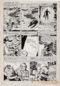 """Original Comic Art:Panel Pages, Jack Kirby and Dick Ayers Tales of Suspense #33 """"The Mysteryof the Tax Collector from Space"""" Page 3 Original ..."""