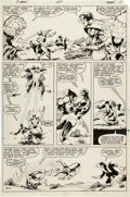 Original Comic Art:Panel Pages, John Byrne and Terry Austin The X-Men #127 Cyclops vs.Wolverine Page 11 Original Art (Marvel, 1979)....