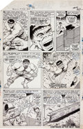 Original Comic Art:Panel Pages, Jack Kirby and Bill Everett Tales to Astonish #79 Hulk page3 Original Art (Marvel, 1966)....