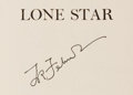 Books:Americana & American History, T. R. Fehrenbach. SIGNED. Lone Star: A History of Texas and theTexans. New York: American Legacy Press, [1983]. Lat...