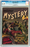 Golden Age (1938-1955):Horror, Mister Mystery #1 (Aragon, 1951) CGC FN 6.0 Cream to off-whitepages....