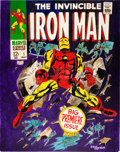 Original Comic Art:Covers, Gene Colan Iron Man #1 Cover Re-Creation Original Art(2001)....