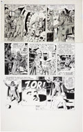 "Original Comic Art:Panel Pages, Wally Wood Woodwork Gazette #2 ""The End"" Partial Page 6Original Art (Wood, 1978)...."