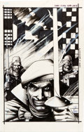 Original Comic Art:Covers, Tim Truman Grimjack #19 Cover Original Art (FirstPublishing, 1986)....