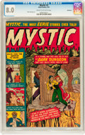 Golden Age (1938-1955):Horror, Mystic #2 Bethlehem pedigree (Atlas, 1951) CGC VF 8.0 Cream tooff-white pages....