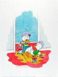 Original Comic Art:Covers, William Van Horn Donald Duck Cover Original Art (1998)....