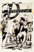 Original Comic Art:Covers, Bernie Wrightson House of Mystery #193 Cover Original Art(DC, 1971).... (Total: 2 Items)