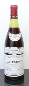 Red Burgundy, La Tache 1985 . Domaine de la Romanee Conti . 3.5cm, lbsl,ssos, #005951. Bottle (1). ... (Total: 1 Btl. )