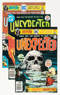 Bronze Age (1970-1979):Horror, The Unexpected Group (DC, 1976-82) Condition: Average NM-....(Total: 33 Comic Books)