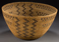 American Indian Art:Baskets, A MONO COILED BOWL. c. 1900...