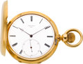 Timepieces:Pocket (pre 1900) , Emile Perret Fine 18k Gold High Grade Pocket Chronometer, circa1880's. ...