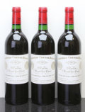 Red Bordeaux, Chateau Cheval Blanc 1982 . St. Emilion. Bottle (3). ...(Total: 3 Btls. )