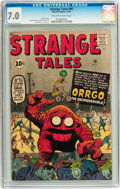 Silver Age (1956-1969):Adventure, Strange Tales #90 (Marvel, 1961) CGC FN/VF 7.0 Off-white to white pages....