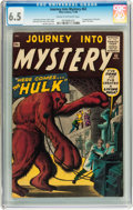 Silver Age (1956-1969):Horror, Journey Into Mystery #62 (Marvel, 1960) CGC FN+ 6.5 Cream tooff-white pages....
