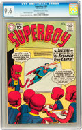 Silver Age (1956-1969):Superhero, Superboy #88 (DC, 1961) CGC NM+ 9.6 Off-white to white pages....