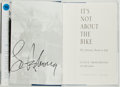 Books:Biography & Memoir, Lance Armstrong. SIGNED. It's Not About the Bike. MyJourney Back to Life. New York: G. P. Putnam's Sons, 2000. ...