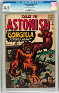 Silver Age (1956-1969):Mystery, Tales to Astonish #18 (Marvel, 1961) CGC VG+ 4.5 Cream to off-whitepages....