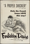 "Movie Posters:Romance, Forbidden Desire & Other Lot (Times, 1957). One Sheets (2) (27"" X 41"" & 28"" X 41""). Romance.. ... (Total: 2 Items)"