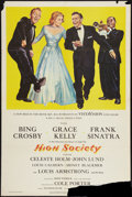"""Movie Posters:Musical, High Society (MGM, 1956). One Sheet (27"""" X 41""""). Musical.. ..."""